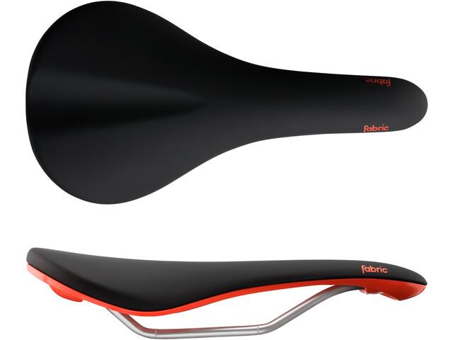 Fabric Scoop Elite Shallow Saddle black/red